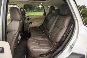 2015 land rover range rover sport rear interior seats photo 5
