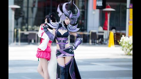 league  legends cosplay  anime expo  youtube