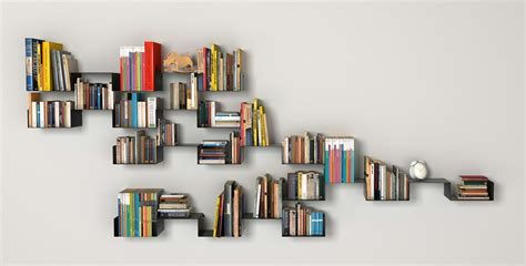 wall bookshelves ideas shelves office idolza
