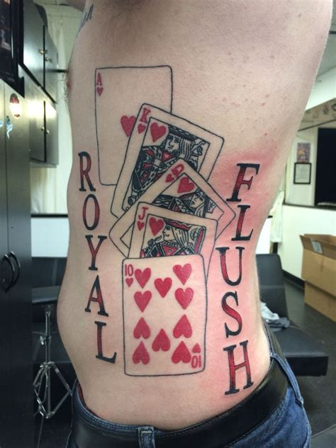 royal flush tattoo designs royal flush design www pixshark images