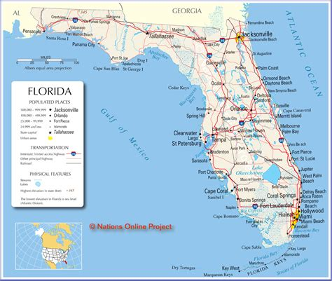 florida west coast map l a international properties