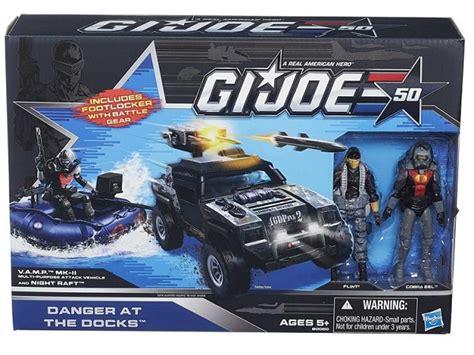 Hasbro Gi Joe 50th Anniversary Battle Below Zero Vehicle Pack toyzmag 187 g i joe les sets exclu 50th anniversary en pr 233 co