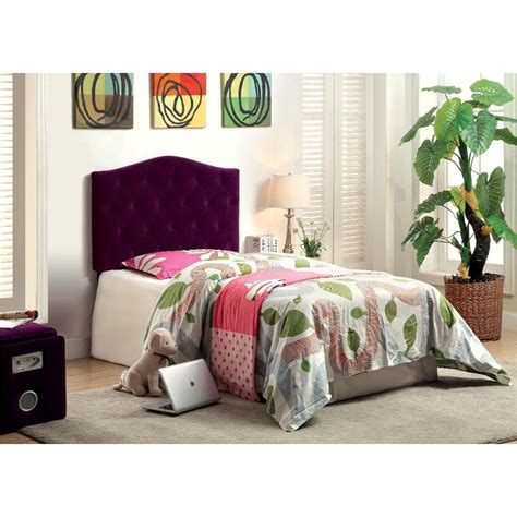 Purple Upholstered Headboard by Venice Purple Upholstered Headboard