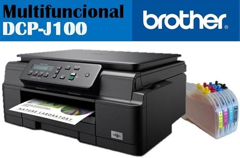 reset impresora brother j100 multifuncional brother dcp j100 c sistema de tinta