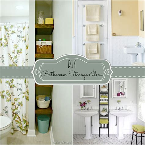 diy bathroom storage ideas homes com