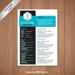 modern resume template free modern resume template vector free