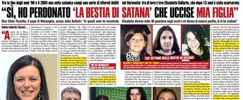 foto bestie di satana bestie di satana il padre di una vittima ho perdonato