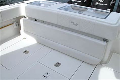 Folding Boat Bench Seat Center Consoles Luxury Edition Seavee Boats