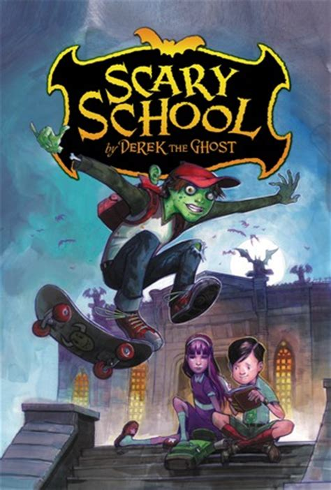 the book splash horror story books scary school by derek the ghost reviews discussion