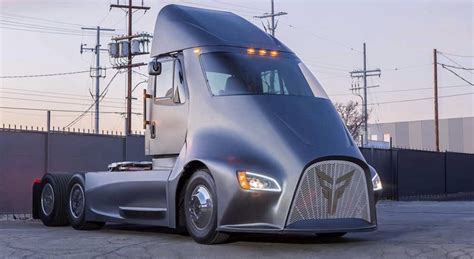 electric semi truck thor trucks reveals electric semi truck to take on tesla