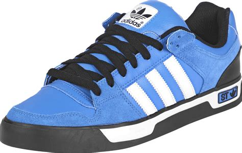 adidas ledge low st shoes blue white black