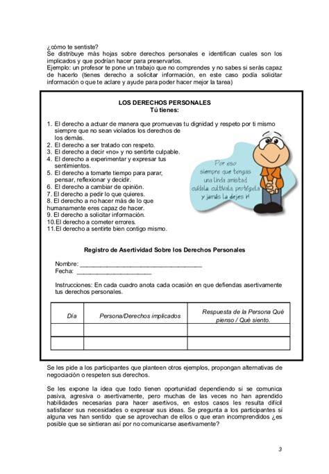 sesion de tutoria la asertividad documents sesion de tutoria la asertividad esslidesharenet sesion de