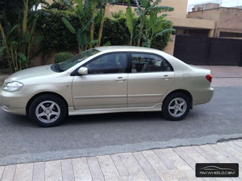 Used 2008 Toyota Corolla S For Sale Used Toyota Corolla Altis 1 8 2008 Car For Sale In Lahore