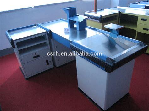 cash register desk for sale 1800 600 850mm rh cr048 supermarket cash register desk