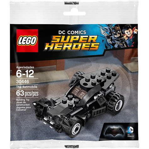 Lego 30446 Polybag Batmobile Superheros new polybag the lego dc comics heroes the batmobile building set 63 pieces 30446