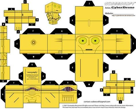 Paper Craft Wars - wars custom papercraft templates gadgetsin