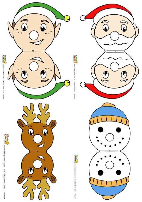 printable reindeer lollipop turn chupachups lollipops into christmas characters for free