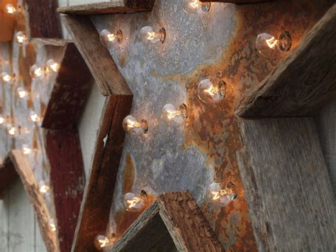 1000 images about barn wood w tin n lights on
