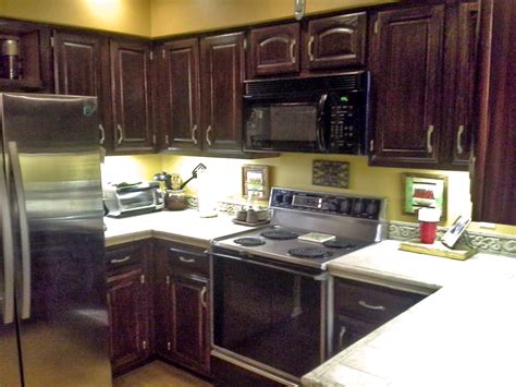 Java Gel Stain Kitchen Upcycle   General Finishes Design