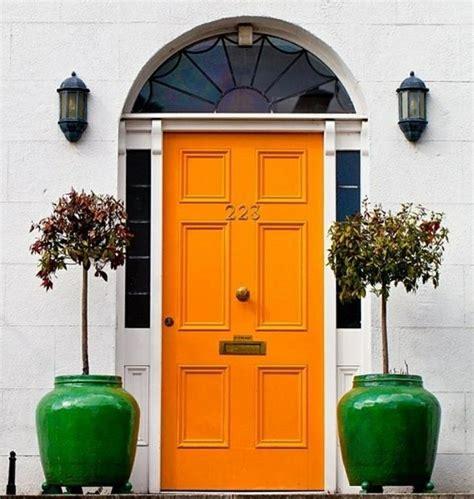 Pin By Meaghan On Doors Pinterest Orange Door Doors Orange Front Door