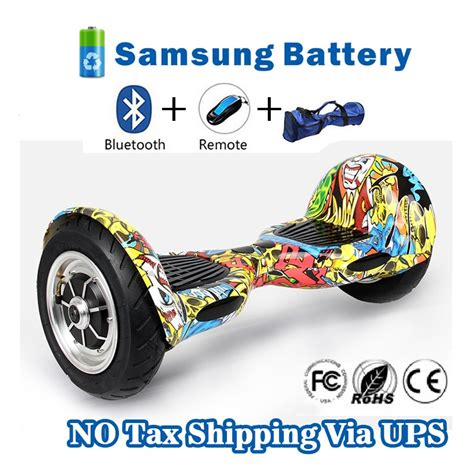 Smart Balance Wheel 10 Bluetooth Free Bag hoverboard 10 inch smart balance electric scooter with