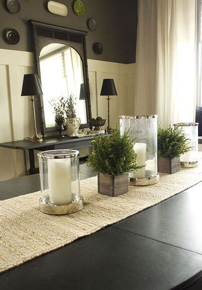 Dining room center pieces