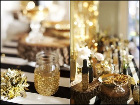 party themes black and gold nye party black white gold parties pinterest