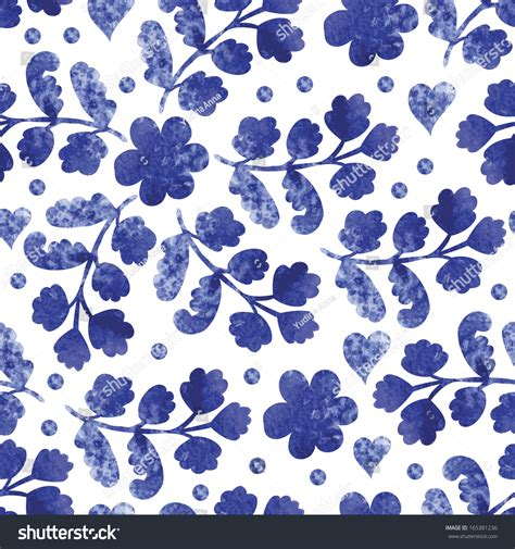vintage pattern web vintage pattern watercolor flowers fabric wrapping stock