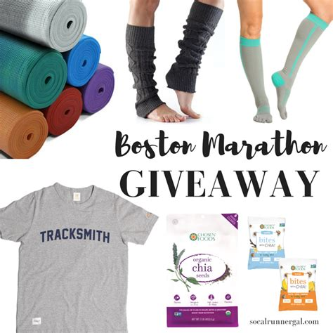 Boston Giveaway - it s time for a giveaway socal runner gal
