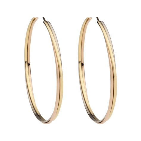 mens gold hoop earrings k page jewelry design