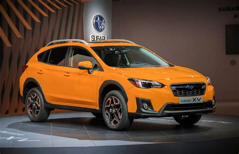 orange subaru crosstrek 2018 subaru crosstrek details crankshaft culture