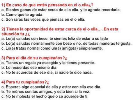 test mi ama conocer hombre amigos the knownledge