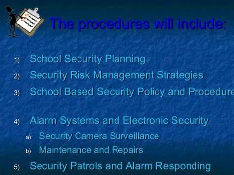 Mba In Safety And Security Management by School Safety And Security Management