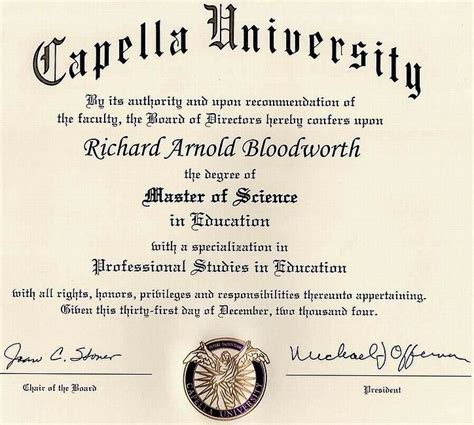 Capella Mba Degree Programs by Pin Degree On