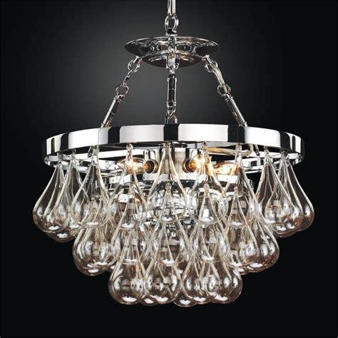 blown glass chandelier concorde 615 glow 174 lighting