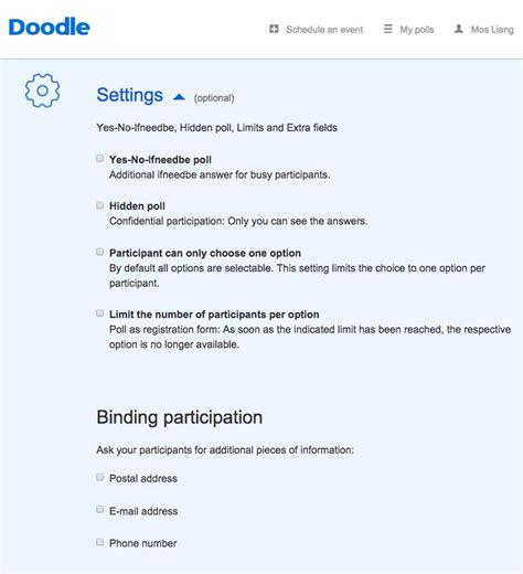 doodle poll gmail doodle 排定行程 也可以超簡單 dcplus 數位行銷實戰家