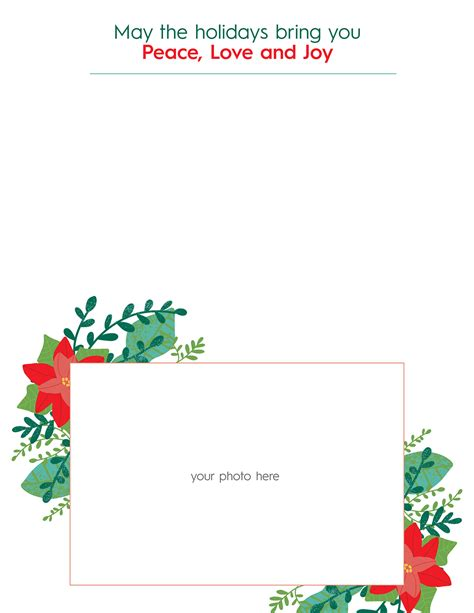 christmas letter templates homes gardens