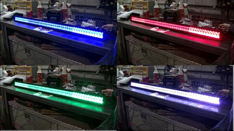 rgbw led lights auxbeam 52 quot v series rgbw led light bar bluetooth