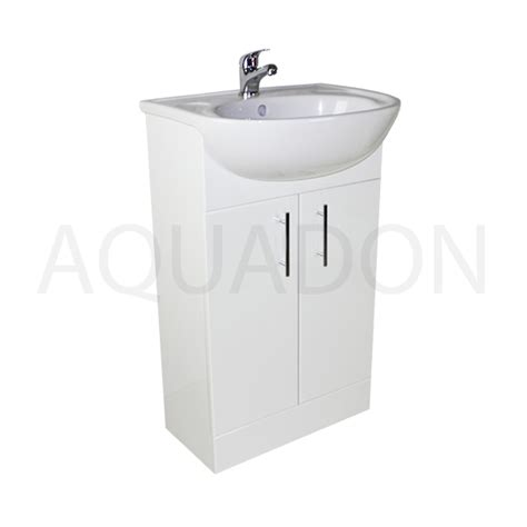 Cloakroom Vanity Units Slimline by 500mm Bathroom Cloakroom Slimline Vanity Unit Compact Sink