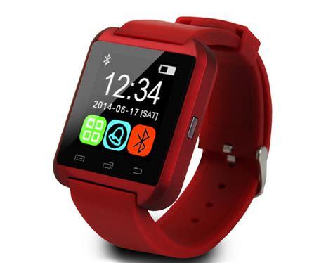 Promo Unique Smartwatch U8 Putih White Smart Jam Branded cheap bluetooth for iphone tft lcd u8 smart