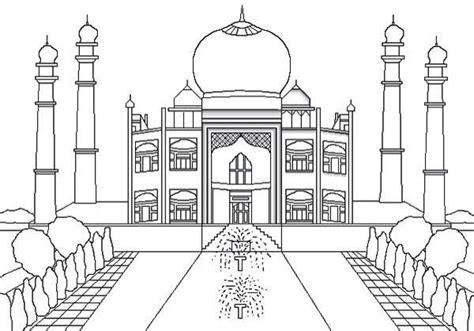 Easy Family Mushee Op17005 13 mosqu 233 e coloriage islam aide au dessins coloriage