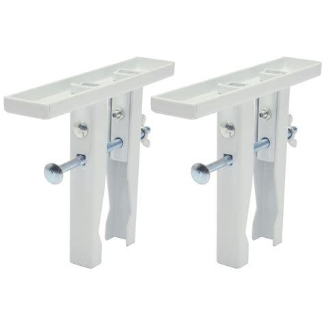duraline mensole duraline radiatorsteunen wit 2 stuks plankdragers