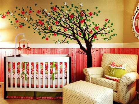 room themes wonderful baby girl nursery decorations editeestrela design