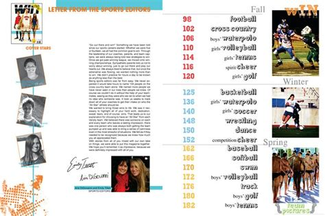 Yearbook Layout Maker | idea for yearbook table of contents idea for yearbook
