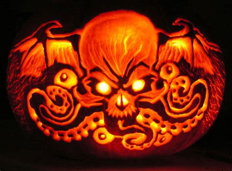 pumpkin designs 30 best cool creative scary pumpkin carving