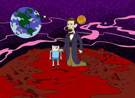 adventure time abraham lincoln user greenninja2 0 abraham lincoln the adventure