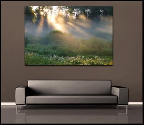 Greek Wall Murals quot golden forest fog quot minnesota nature fine art gallery