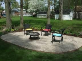 Backyard patio ideas with gravel will relaxing you backyard patio