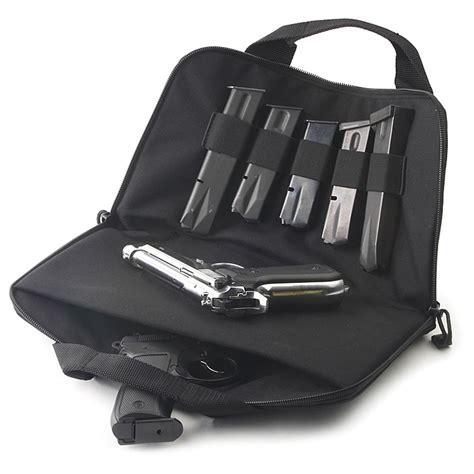 small rug shooers blackhawk 174 medium gun rug pistol pouch black 20602 mag pouches at sportsman s guide