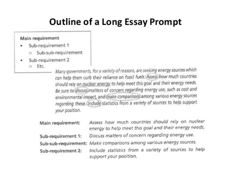 For A Essay by Understanding Essay Prompts Taking A Position And Asking Research Q